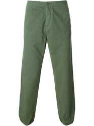 Aspesi Casual Trousers Green