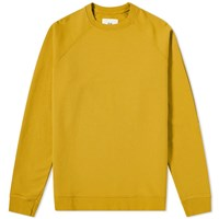 Folk Rivet Crew Sweat Yellow
