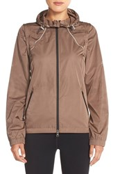 Women's Zella 'Cloud Nine 2' Hooded Jacket Gold Bronze