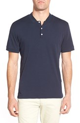 Ag Jeans Men's Ag 'Forged' Pima Cotton Polo Naval Blue