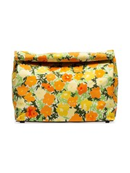 Simon Miller Multicoloured Lunchbag 30 Floral Print Clutch 10043 Multicoloured