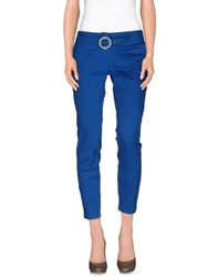 Cristinaeffe Trousers Casual Trousers Women Azure