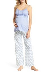 Belabumbum Violette Maternity Nursing Pajamas Indian Print