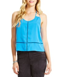 Jessica Simpson Madison Stitched T Back Tank Direct Oire