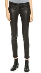 Dl1961 Emma Leather Leggings Racer