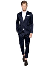 Dsquared Stretch Cotton Gabardine Paris Suit