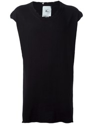 Lost And Found Rooms Sleeveless Jumper Black