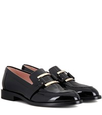 Roger Vivier Patent Leather Loafers Black