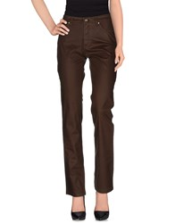 Trussardi Jeans Trousers Casual Trousers Women Cocoa
