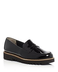 Paul Green Kianna Patent Penny Loafers Black