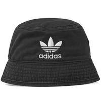 Adidas Trefoil Bucket Hat Black