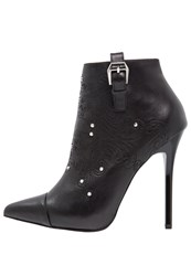 Versace Jeans Ankle Boots Nero Black