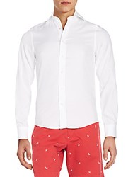 Gant Fitted Cotton Sportshirt White
