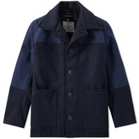 Nigel Cabourn Donkey Jacket Blue