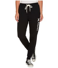Hurley One And Only Cuffed Track Pants Black Women's Casual Pants