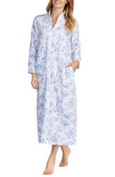 Carole Hochman Quilted Robe Floral Twin