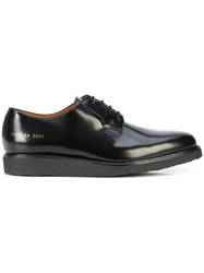Common Projects Lace Up Derby Shoes Black