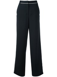 Tibi Wide Legged Trousers Blue