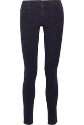Stella Mccartney Mid Rise Skinny Jeans Dark Denim