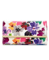 Styleandco. Style And Co. Filemaster Floral Wallet Only At Macy's Pansy Floral