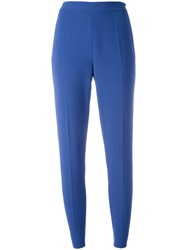 Moschino Straight Leg Trousers Blue