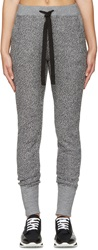 Y 3 Black And White Reversed Lounge Pants