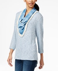 Styleandco. Style And Co. Marled Scarf Top Only At Macy's