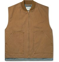 Fear Of God Cotton Canvas Gilet Brown