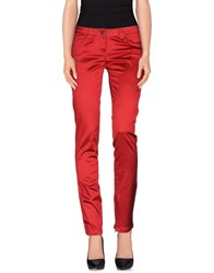 Exte Trousers Casual Trousers Women Brick Red