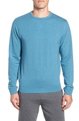 Tasc Performance Legacy Crewneck Sweatshirt Tranquility Sea Heather