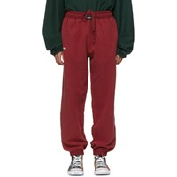 Vetements Red Oversized Inside Out Lounge Pants