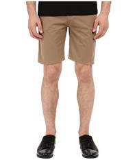 The Kooples Sport Cotton Chino Beige Men's Shorts