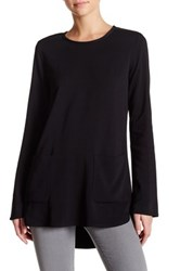 James Perse Double Pocket Tunic Black