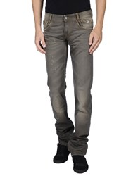 Dandg Denim Denim Trousers Men Military Green