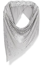 Paco Rabanne Chainmail Scarf Silver