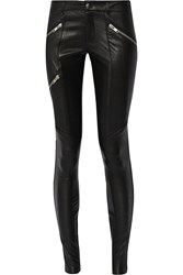 Mason By Michelle Mason Leather Skinny Pants