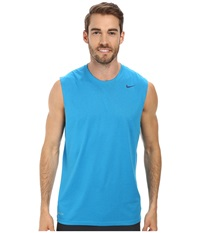 Nike Dri Fit Legend Sleeveless Training Shirt Light Blue Lacquer Blue Force Blue Force Men's Sleeveless