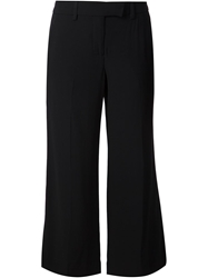 A.L.C. 'Gauncho' Cropped Flared Trousers Black