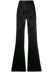 Ann Demeulemeester Minerva High Rise Flared Trousers 60
