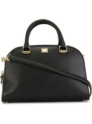Dolce And Gabbana Bowling Tote Bag Black