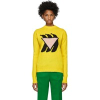 Prada Yellow Banana Sweater