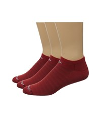 Drymax Sport Hyper Thin Running No Show 3 Pack Torrid Red No Show Socks Shoes