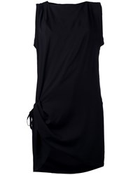 Ann Demeulemeester Side Tie Sleeveless Top Black