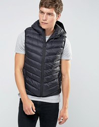 Brave Soul Padded Layering Gillet Jacket Black