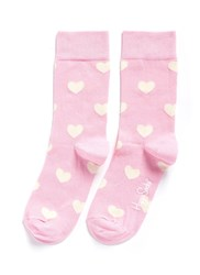 Happy Socks Heart Pink
