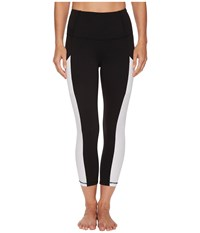 The North Face Motivation High Rise Pocket Crop Pants Tnf Black Tnf White Women's Casual Pants