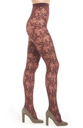 Oroblu Women's Rosemary Tights Bordeaux
