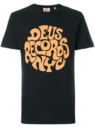 Deus Ex Machina Print T Shirt Black