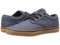 Globe Motley Navy Chambray Gum Men's Skate Shoes Blue