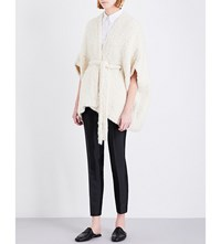 Gabriela Hearst Joseph Knitted Cashmere Cardigan Ivory